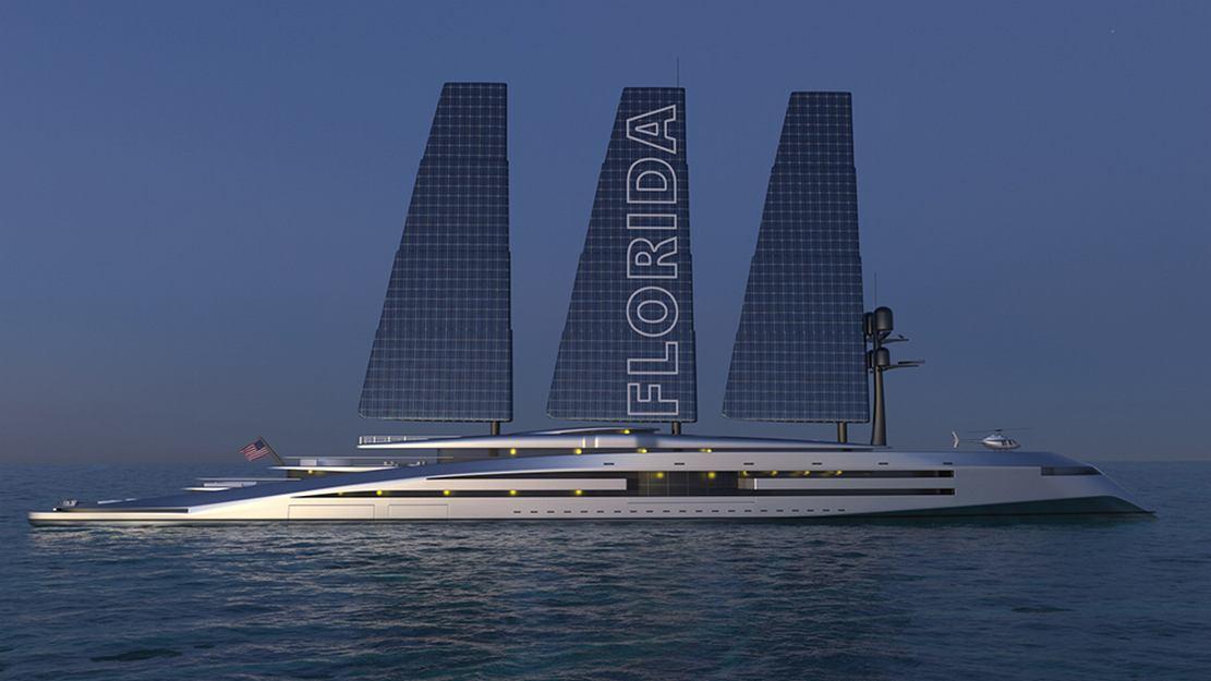 160 Meter Florida Sailing Yacht concept (1)