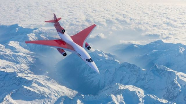 Aerion AS3 Mach 4+ Supersonic Airliner (2)