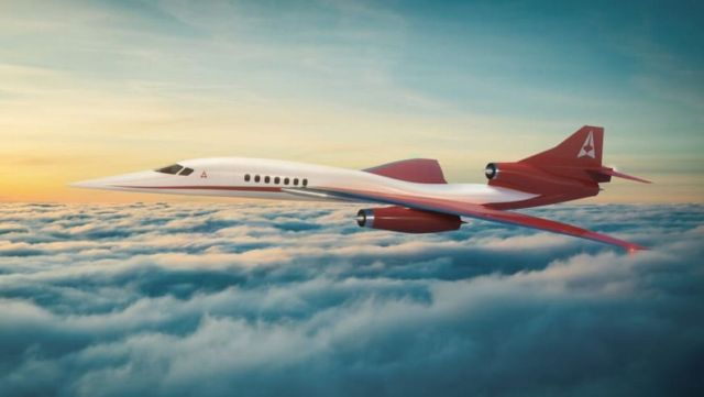Aerion AS3 Mach 4+ Supersonic Airliner (1)