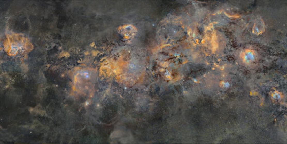 An Enormous Mosaic of the Milky Way (5)