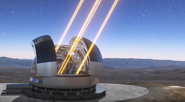 Extremely Large Telescope (ELT)