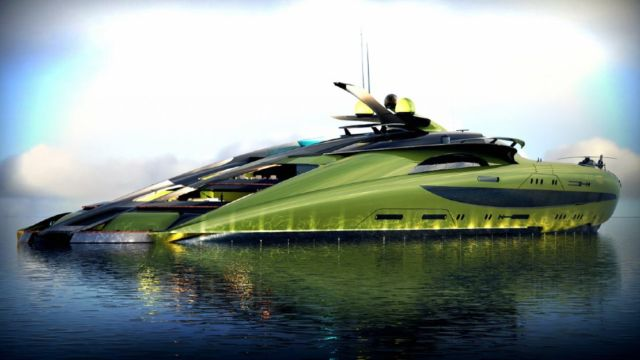 Crescere 433-Foot Megayacht (2)