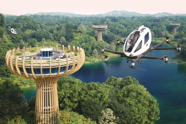 Eco-Sustainable Vertiport will be built in Italy