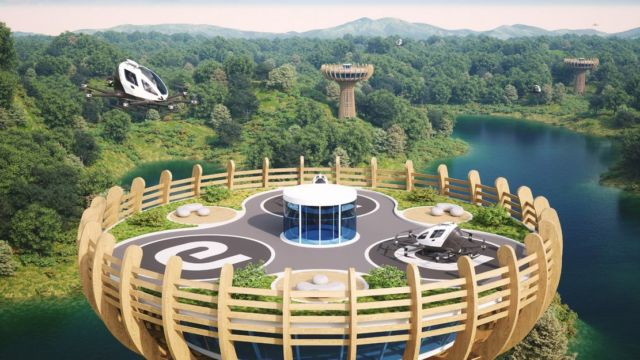 Eco-Sustainable Vertiport will be built in Italy (2)