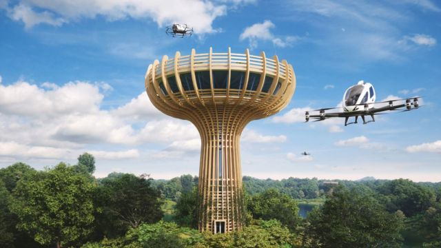 Eco-Sustainable Vertiport will be built in Italy (1)