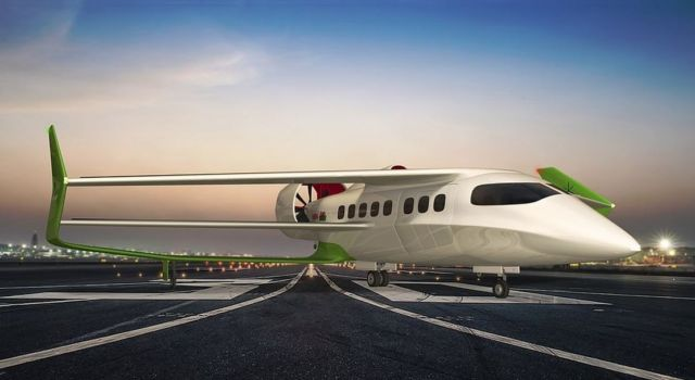 Faradair Beha bio electric Hybrid aircraft