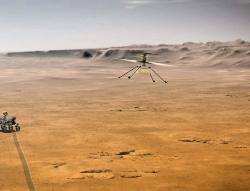 Ingenuity Mini-Helicopter now on Mars