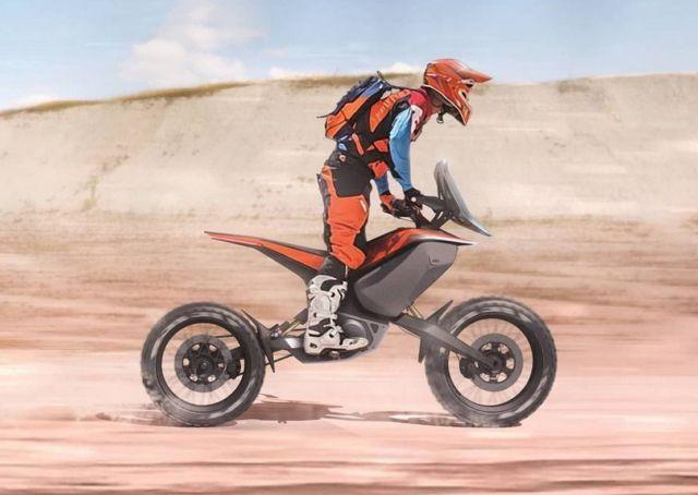 KTM Light Adventure motorcycle