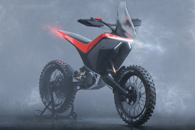 KTM Light Adventure motorcycle (4)