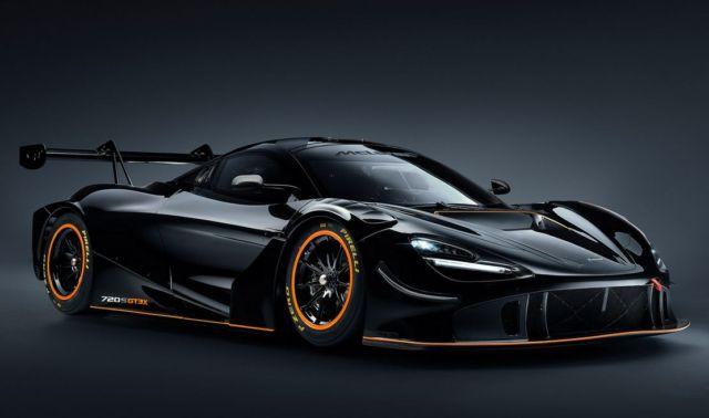 McLaren 720S GT3X Track Car