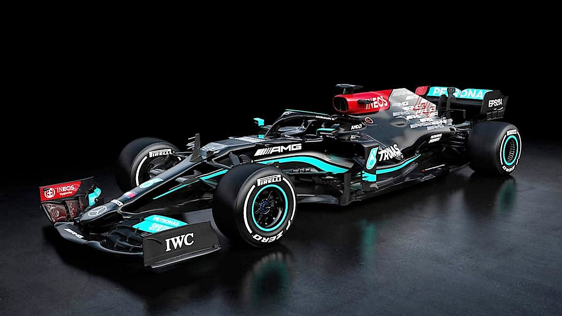 Mercedes F1 W12 challenger for the 2021 season (5)