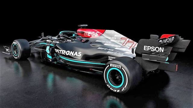 Mercedes F1 W12 challenger for the 2021 season (4)