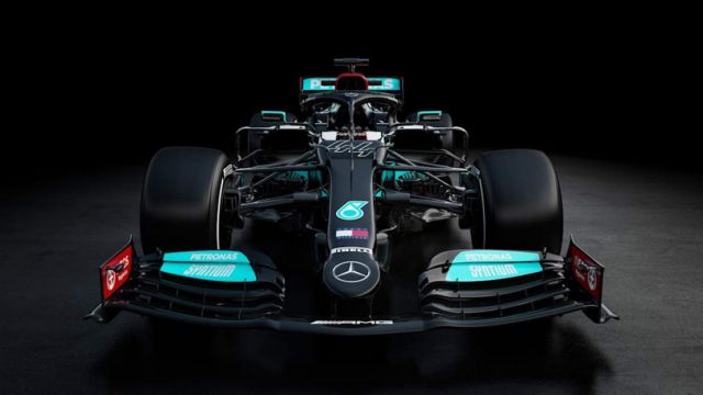 Mercedes F1 W12 challenger for the 2021 season (3)