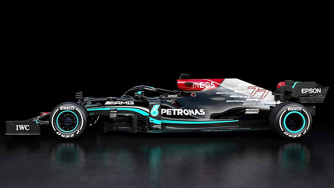 Mercedes F1 W12 challenger for the 2021 season (1)