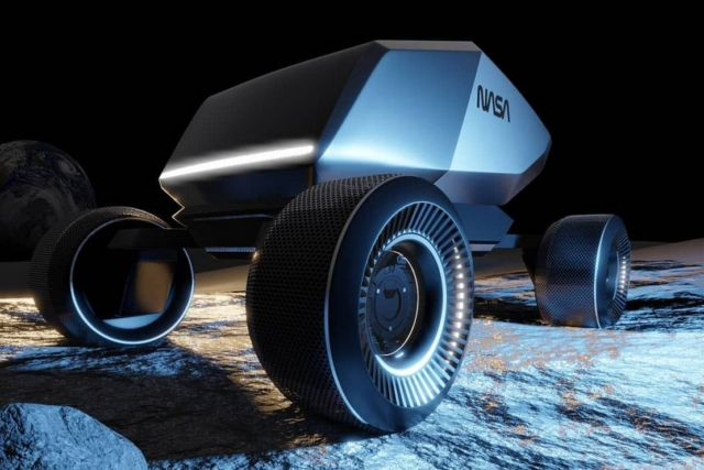 Moonracer exploration vehicle