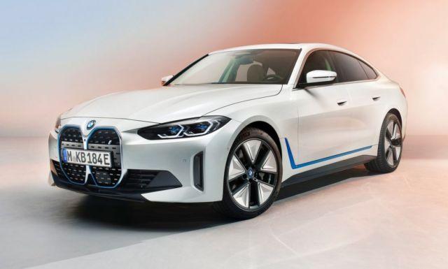 New BMW i4 EV Electric Sedan
