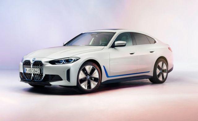 New BMW i4 EV Electric Sedan (3)