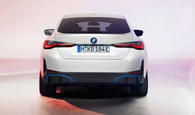 New BMW i4 EV Electric Sedan (2)