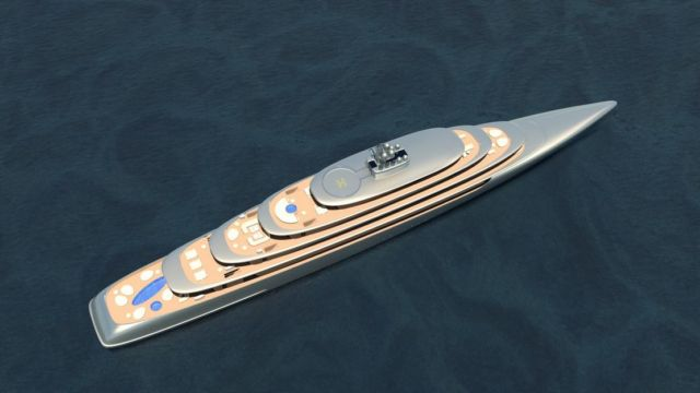 Pebble 459-foot superyacht concept (2)