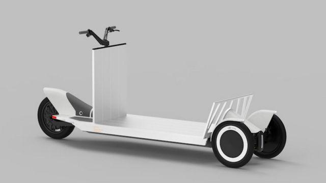 Polestar Re:Move three-wheeled cargo sled