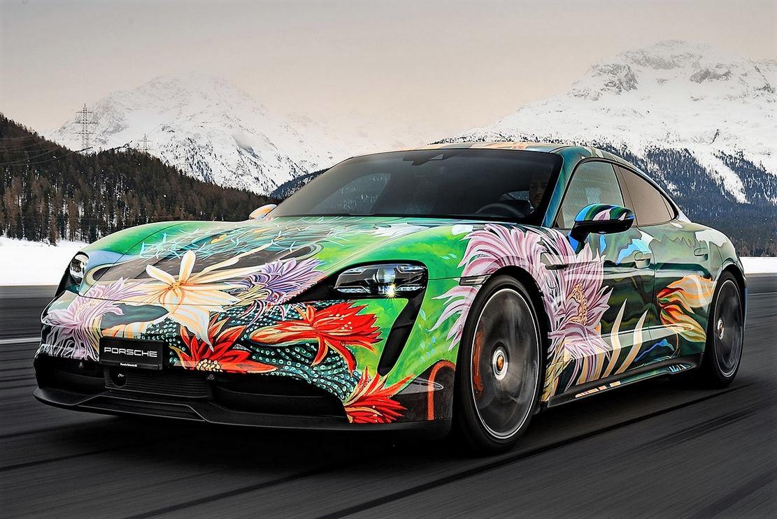 Porsche Taycan 4S Artcar (13)