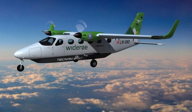 Rolls-Royce and Tecnam to create an all-electric passenger aircraft