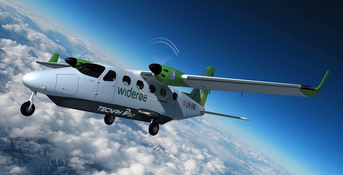 Rolls-Royce and Tecnam all-electric passenger aircraft (3)