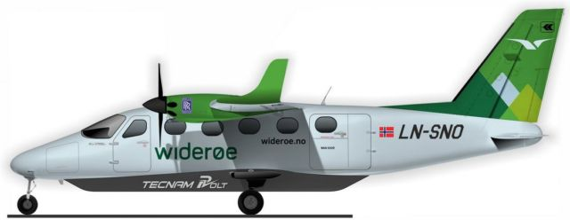 Rolls-Royce and Tecnam all-electric passenger aircraft (5)