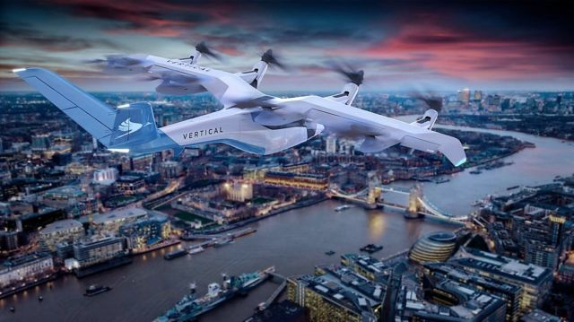 Vertical Aerospace's all-electric aircraft