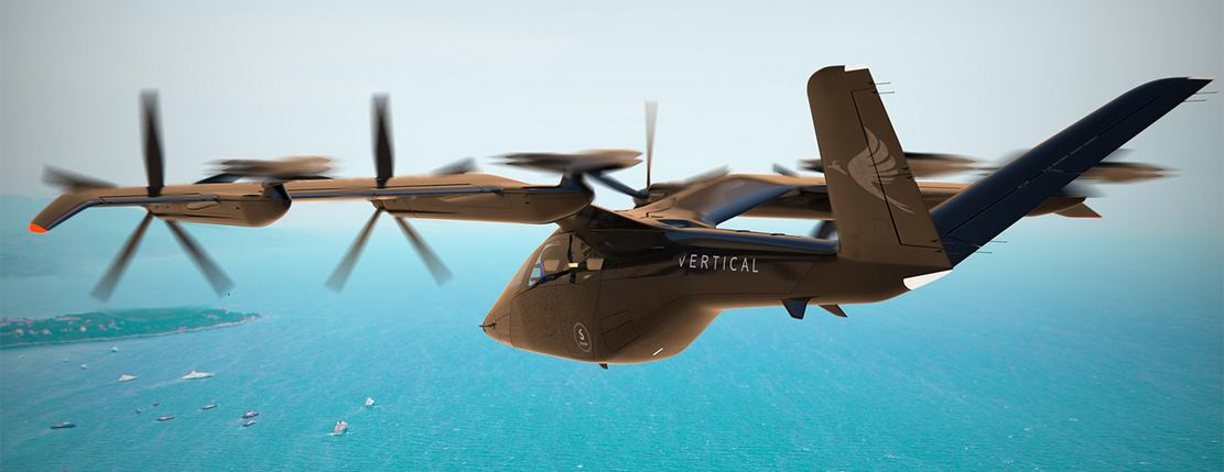 Vertical Aerospace's all-electric aircraft (1)