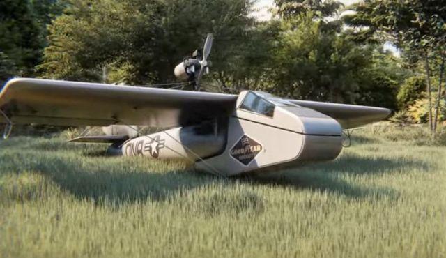 The Goodyear Inflatoplane