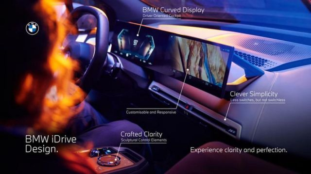 The New BMW iDrive 8 (1)