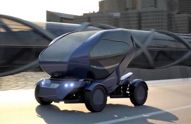 Autonomous Modular Vehicle