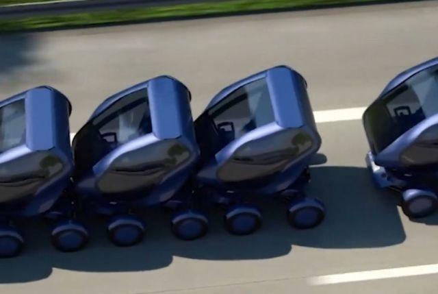 Autonomous Modular Vehicle (2)