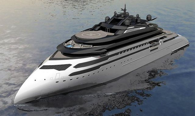 Ulstein CX127 Expedition Yacht Concept