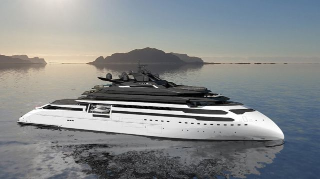 Ulstein CX127 Expedition Yacht Concept (5)