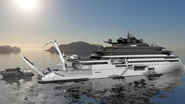Ulstein CX127 Expedition Yacht Concept (4)