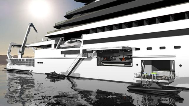 Ulstein CX127 Expedition Yacht Concept (3)
