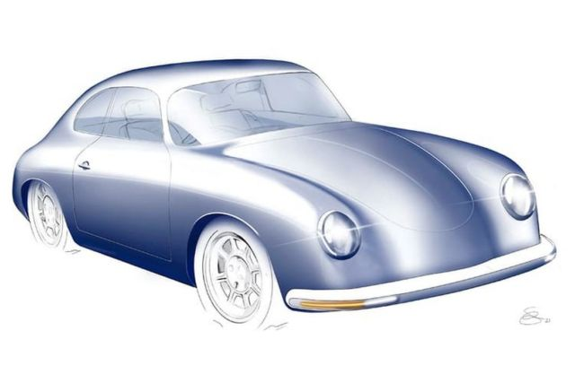 WEVC Coupe Porsche 356a-inspired Electric Vehicle (3)