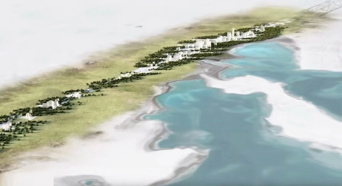 Saudi Arabia Is Building a Linear City