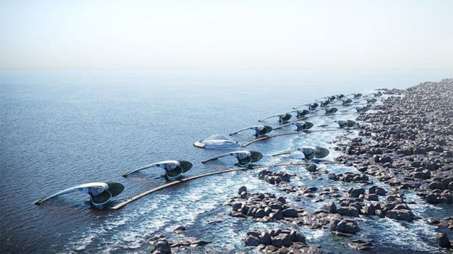 'In Absencia' Floating Self-Sustaining community (2)