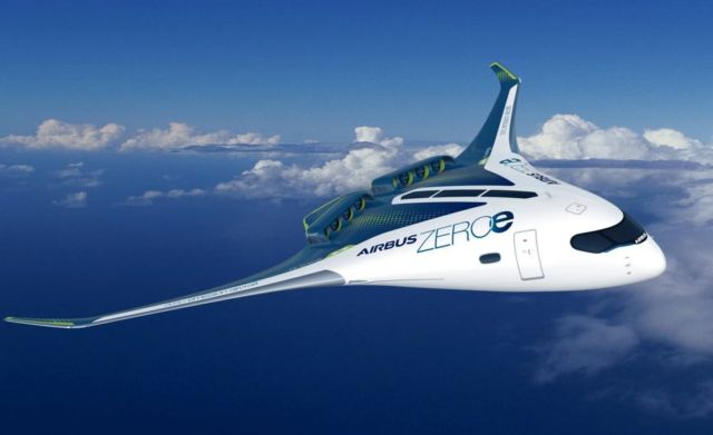 Airbus blended wing concept