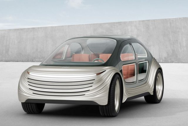 AIRO electric car with customizable interior