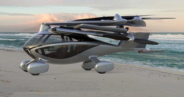 Aska new Urban Air Mobility vehicle (3)