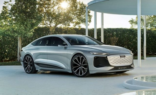 Audi A6 e-tron electric car (2)