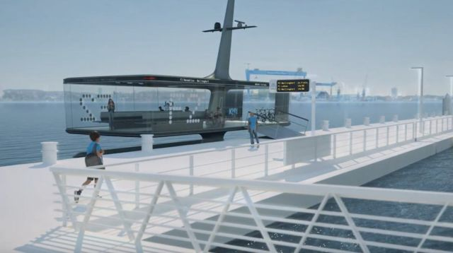 CAPTN Vaiaro electric Ferry concept