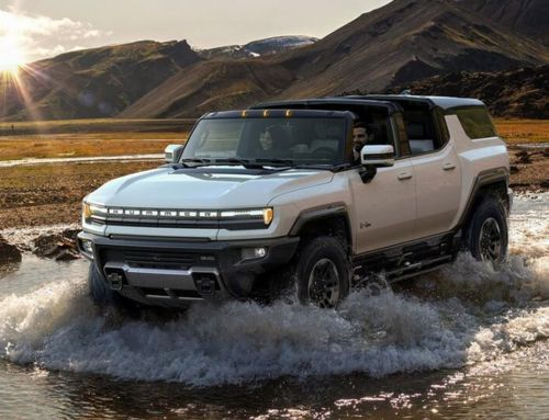 GMC Hummer EV SUV Supertruck
