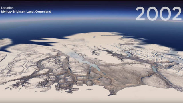 Google Earth's New 3D Time-Lapse