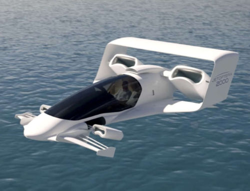 Jetoptera VTOL aircraft uses Bladeless Fans technology