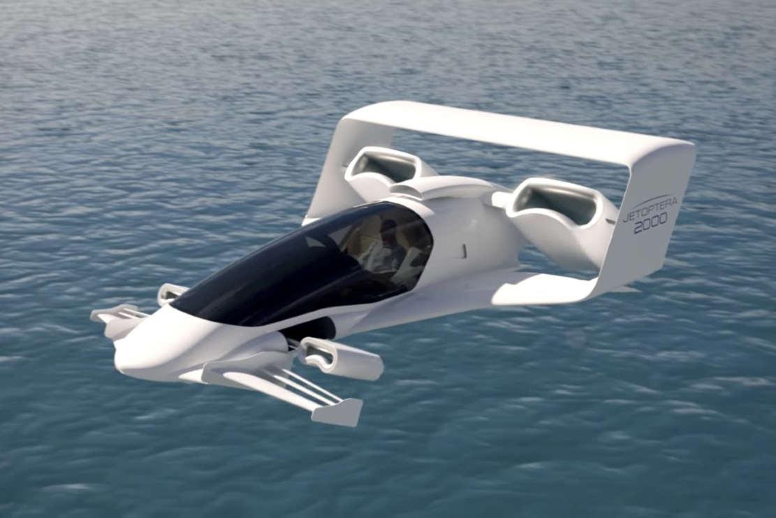 Jetoptera VTOL aircraft (6)